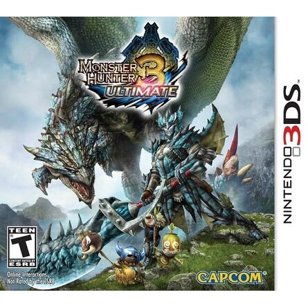 Monster Hunter 3 Ultimate - Nintendo 3DS (Refurbished)