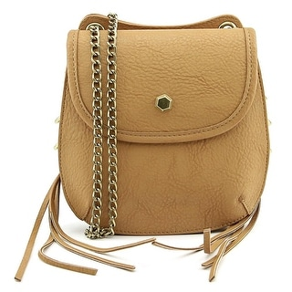 Big Buddha Kara Women Synthetic Tan Messenger - Beige