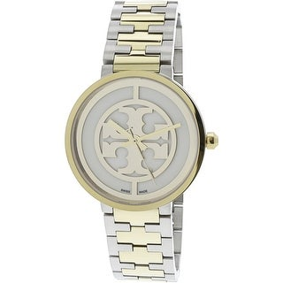 Tory Burch Women's Reva TRB4027 Gold Stainless-Steel Quartz Fashion Watch