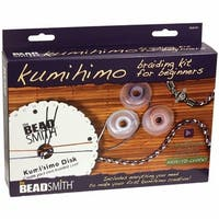 Beadsmith KUMIKIT1 Kumihimo Starter Kit-