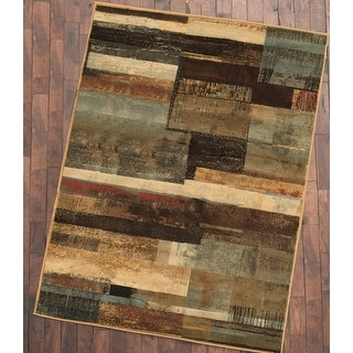 Link to Mayberry Hearthside Scenic Vision Lodge Contemporary Area Rug Similar Items in Rugs