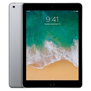 "Apple iPad (5th generation) with WiFi 9.7""- 128GB (Refurbished)"
