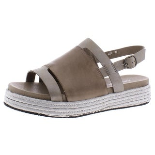Link to Antelope Womens Flatform Sandals Leather Slingback - Grey Similar Items in Women's Shoes