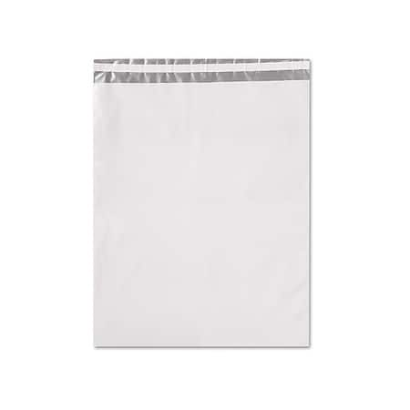 """Pack of 100, 14 X 17"""" White Mailers 2.5 Mil Coex Peel & Stick to Create Non-See Through Material For Security"""