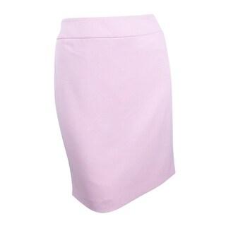 Kasper Women's Petite Pencil Skirt - tutu pink