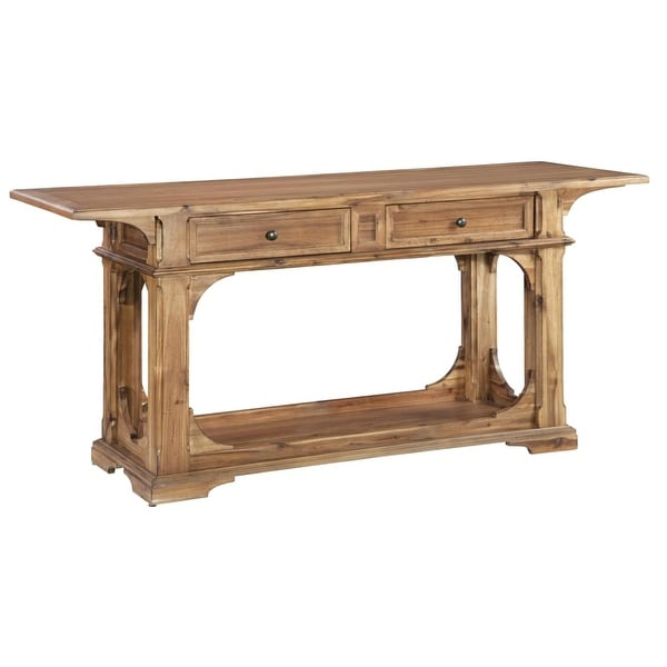 Hekman 23310 Wellington Hall 66 Inch Wide Wood Sofa Table With Drawers