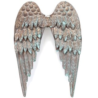 Salvaged Metal Angel's Wings-