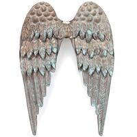 Salvaged Metal Angel's Wings-