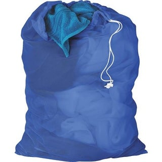 Honey Can Do Blue Mesh Laundry Bag LBG-01161 Unit: EACH