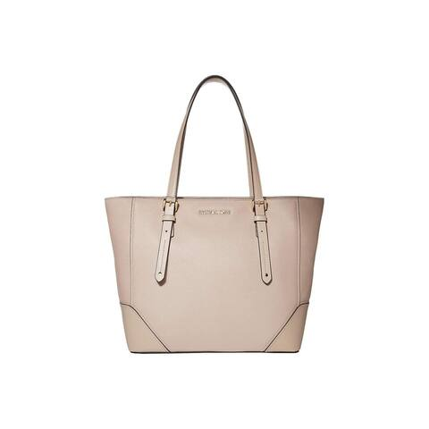 MICHAEL Michael Kors Aria Large Leather Tote Soft pink