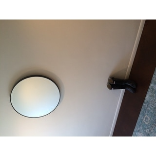Feiss Oil Rubbed Bronze Decorative Wall Mirror