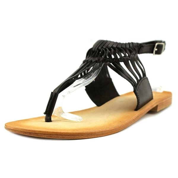 MTNG Elle Women Goat Black Sandals