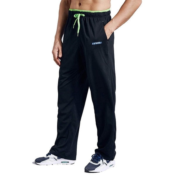 LUWELL PRO Mens Sweatpants with Pockets Athletic Pants for Workout,Gym,Running