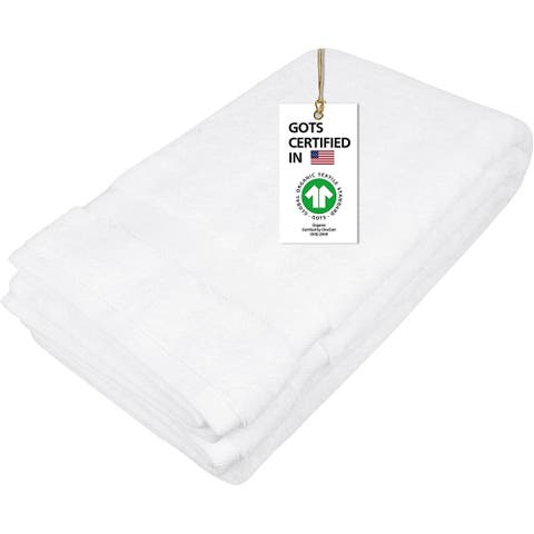 """Organic Cotton Feather Touch Quick Dry 700 GSM Bath Sheet, 36""""X70"""""""