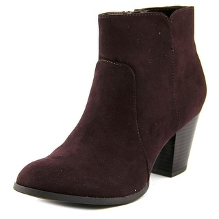 Style & Co Charlees Round Toe Synthetic Ankle Boot