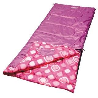 Coleman 2000019645 coleman 2000019645 sleeping bag rectangular youth girl