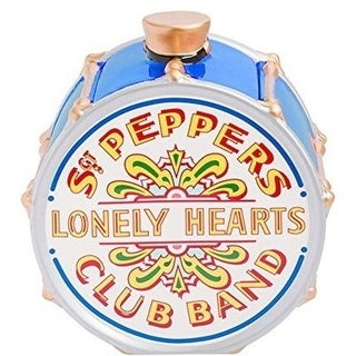 Beatles Sgt Pepper's Blue Ceramic Cookie Jar