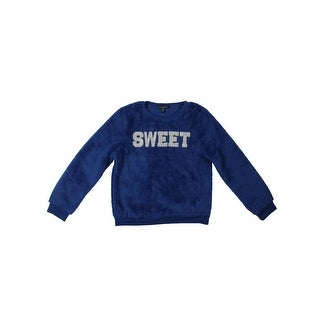 Blush & Bloom Girls Sweet Sweatshirt Plush