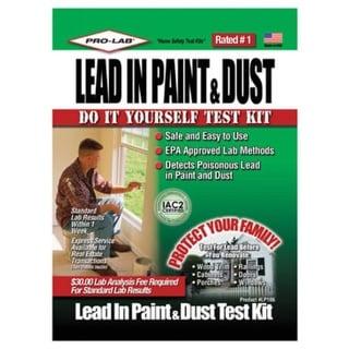 Pro-Lab LP106 Lead In Paint & Dust Test Kit
