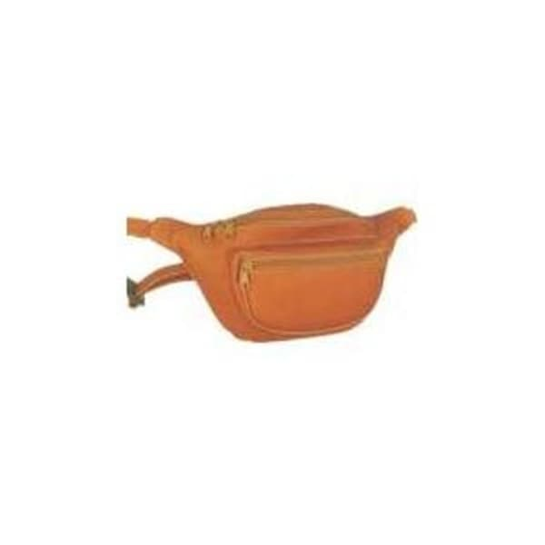 7daa3d333b83 Shop David King & Co 403T Two Zip Waist Pack- Tan - Free Shipping On Orders  Over $45 - Overstock - 25232597