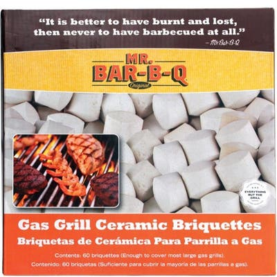 MR. BAR-B-Q Ceramic Briquettes 60 pc.