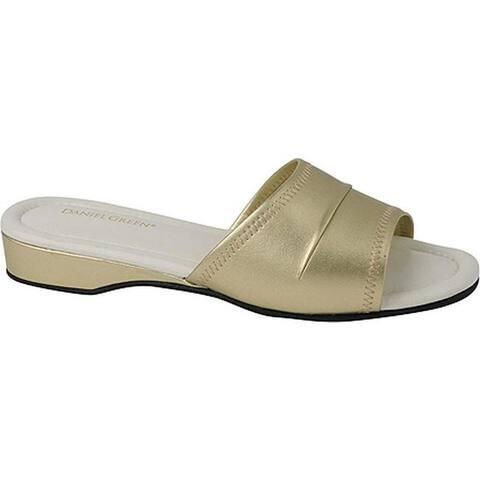Daniel Green Women's Dormie Slipper Gold