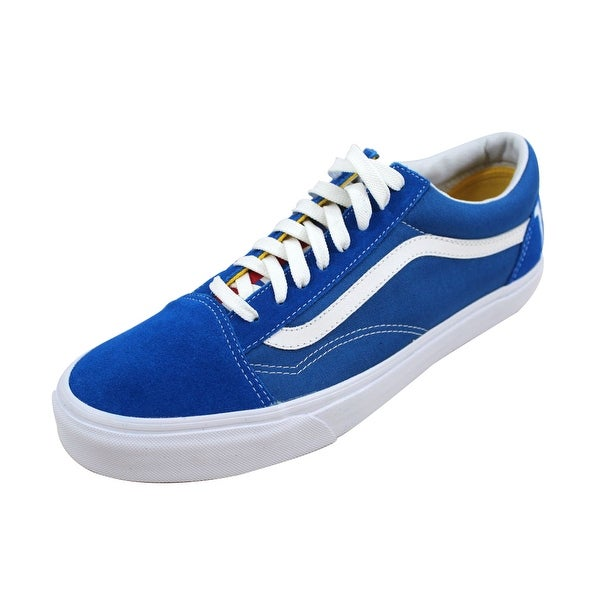 Vans Men's Old Skool Blue/White-Red 1966 VN0A38G1MVW