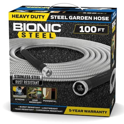 Bionic Steel Indestructible Garden Hose