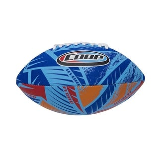 "10"" Blue, Orange and Red High Performance Hydro Football Swimming Pool Toy"