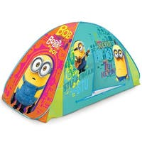 PlayHut Minions 2-In-1 Tent, Fits Most Twin Beds, 75x35 Inches