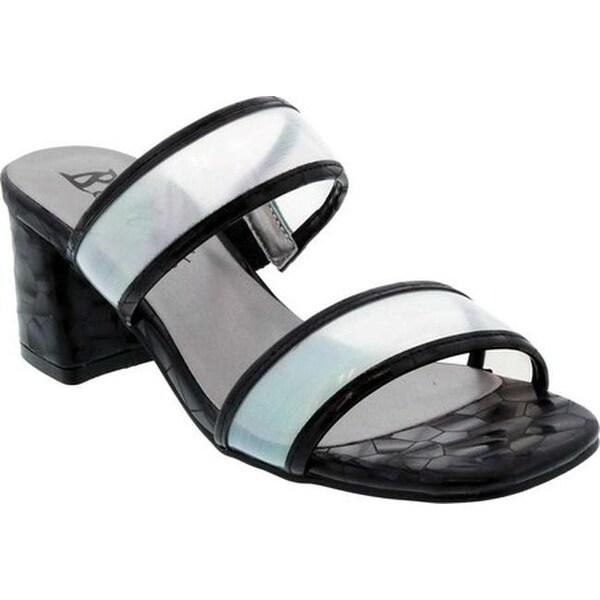 9509e1c0cfe6 Shop Bellini Women's Fizzle Slide Sandal Black Lucite - On Sale ...