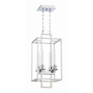 "Craftmade 41534 Cubic 4 Light 10-1/2"" Wide Cage Pendant"