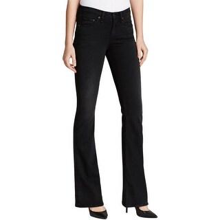 Rag & Bone Womens High Rise Bell Bell Bottom Jeans Modal Blend Stretch