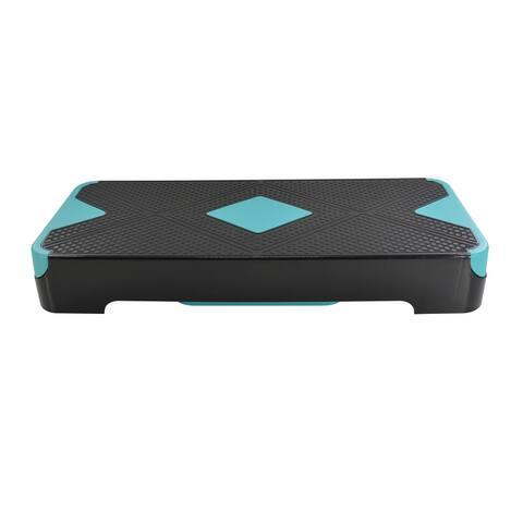 2 Level Adjustable Aerobic Step Platform E
