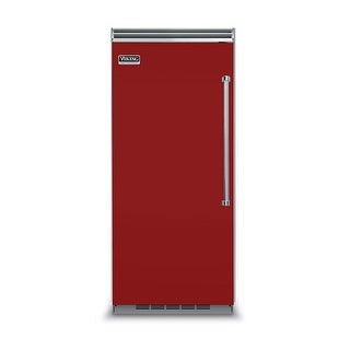 Viking VCFB5363L 36 Inch Wide 19.2 Cu. Ft. Built-In Upright Freezer with ProChill Temperature Management and Left Door Swing