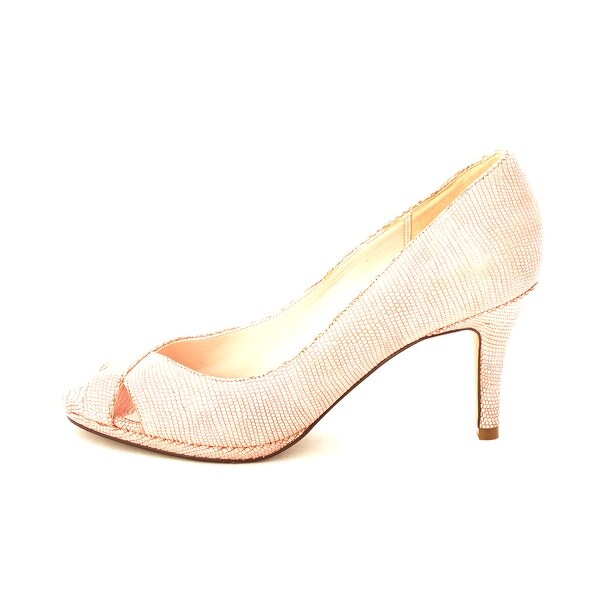 Cole Haan Womens 14A4031 Peep Toe Classic Pumps - 6
