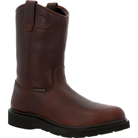 Georgia Boot Suspension Wedge Waterproof Pull On