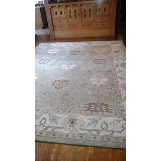 "Nourison Hand-tufted Caspian Wool Rug (8' x 10'6) - 8' x 10'6"""