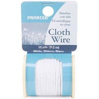 White - Cloth Covered Spool Wire 32 Gauge 30'