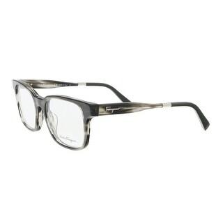 Salvatore Ferragamo SF2787 027 Marble Black Rectangle Optical Frames - 54-20-145