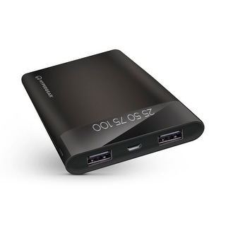 Link to HyperGear 12000mAH Universal Dual USB LED Power Bank Charcoa (14043) Similar Items in Cell Phone Accessories