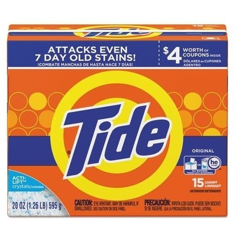 Tide 27782 Ultra Powder Laundry Detergent, 20 Oz