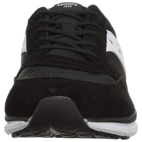 Kids Saucony Girls Jazz Lite Leather Low Top Lace Up Running Sneaker