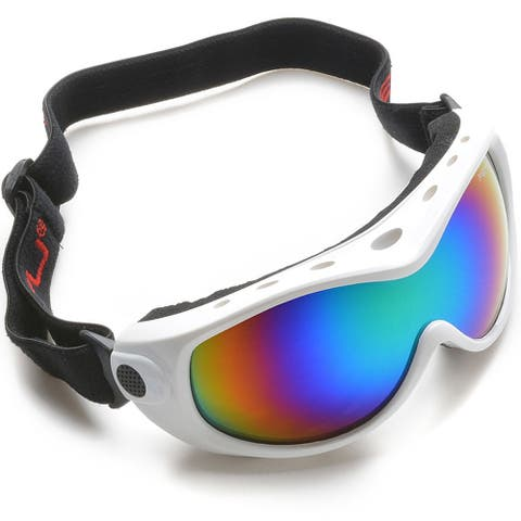 ODOLAND Anti-Fog Windproof Kids Ski Goggles Youth Snowboard Snowmobile Goggles - SIZE