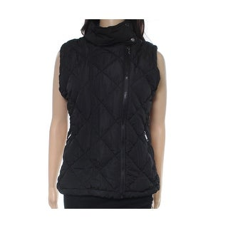 Marc New York NEW Black Womens Medium M Quilted Puffer Vest Jacket
