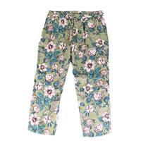 Lauren by Ralph Lauren Green Womens Size 12 Floral Printed Pants