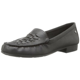 LifeStride Womens Slim Faux Leather Dress Loafers - 5 medium (b,m)