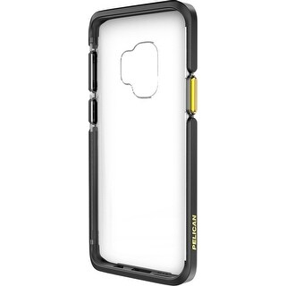 Pelican Ambassador Case for Samsung Galaxy S9 Plus - Clear/Black