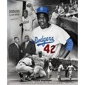 ''Jackie Robinson'' by Wishum Gregory African American Art Print (24 x 20 in.) - Thumbnail 0
