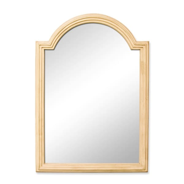 Elements Mir028 Compton Collection 26 X 36 Rectangular Bathroom Vanity Mirror With Arched Top